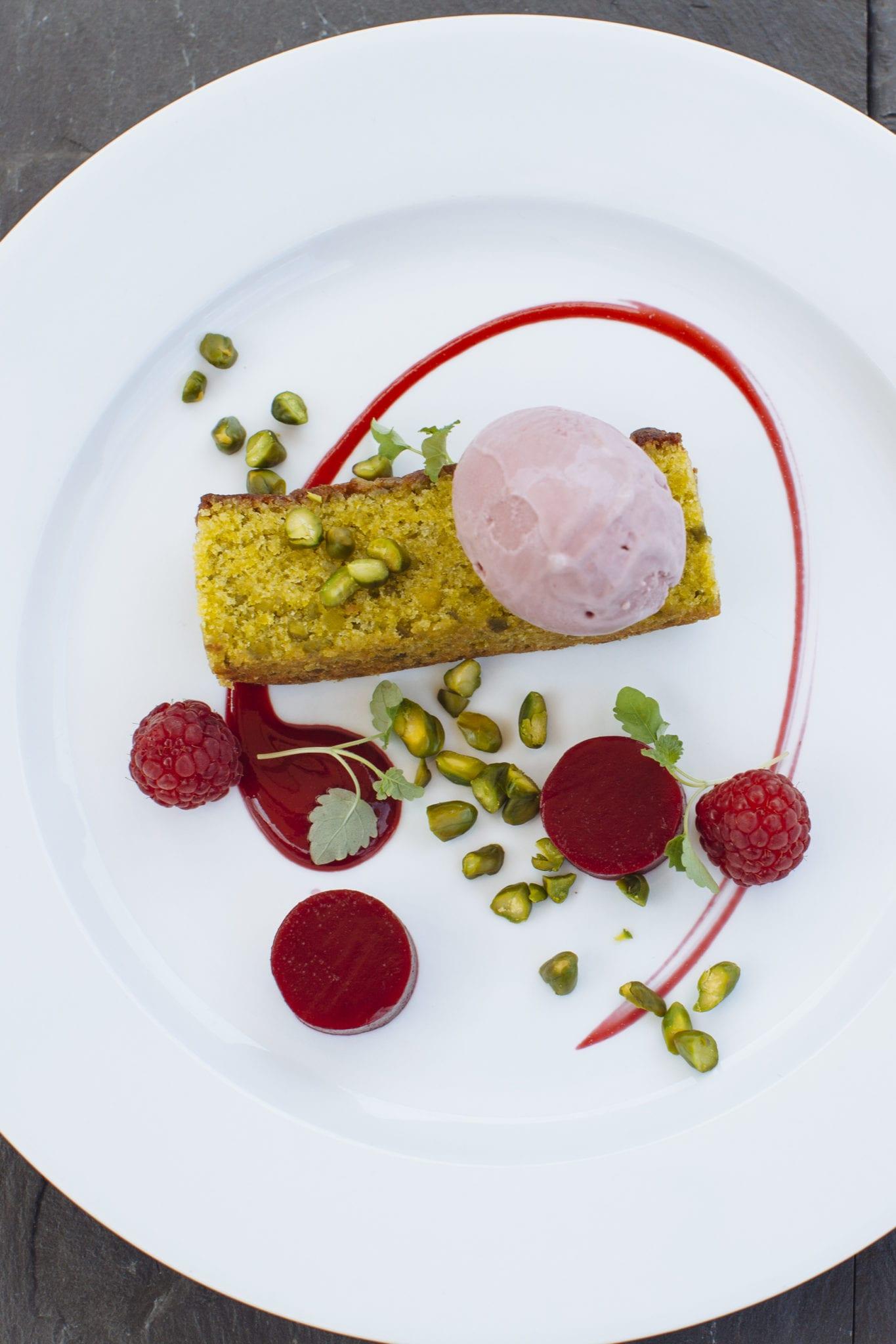 Dessert Dish option at Caley Hall Hotel